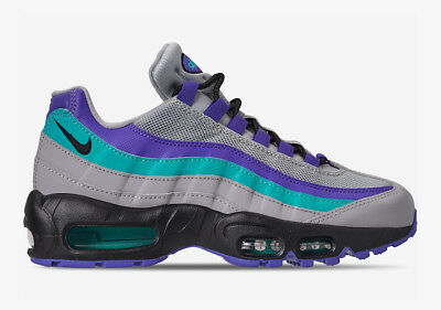 Nike Air Max 95 Og Aqua Grape Am95 Mens At2865-001 Teal Purple Indigo Ship Now