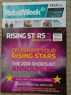 RRP £7.99 ~ May 2018 RETAIL WEEK professional retail magazine NEW