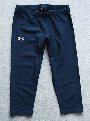 UNDER ARMOUR Black Yoga pants Women's Size Small & BETTER BODIES Shorts Fitness