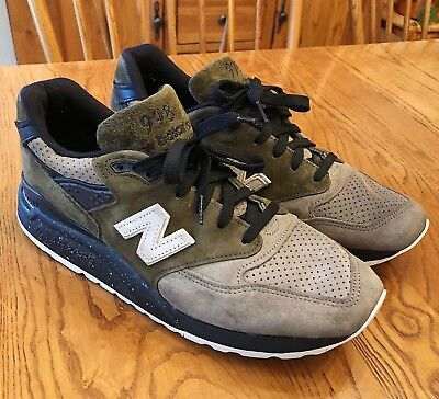 reputable site cf95a bbca0 NEW BALANCE 998 x Todd Snyder Dirty Martini Mens Athletic Shoes Size 9.5  1/200