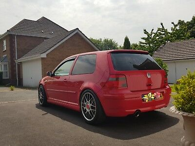 VW Volkswagen Golf Anniversary GTI 1.8T MK4 Limited Edition No.255 not s3/r32/fr
