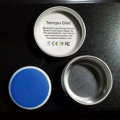 TEMPO DISC Wireless Thermometer, Hygrometer & Dew Point Sensor Beacon Data, EUC