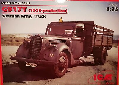 ICM 1:35 G917T German Army Truck (1939 Production) NEU in OVP