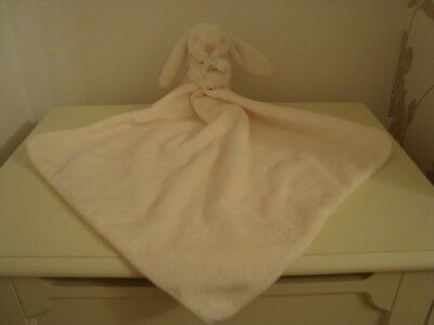 New soft Little Jellycat washable pure white bunny rabbit comforter Jelly2847