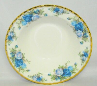 1-Royal Albert Moonlight Rose Rimmed Soup Bowl