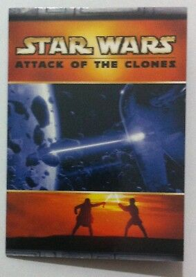 Star Wars Attack of the Clones Panoramic fold-out card # 5