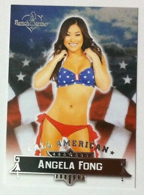 Angela Fong 2015 Benchwarmer All American chase card # 6