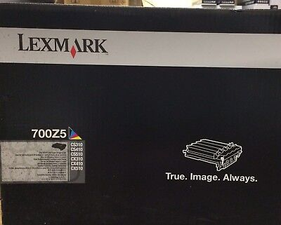 Genuine Lexmark 700Z5 Black & Clear Image Unit - 40,000 pages