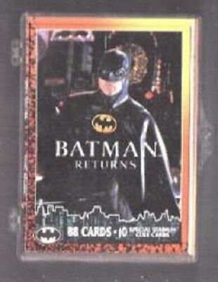 Trading Card Singles Non-sport Trading Cards 24 Topps Company Batman Returns 1992 Fine Quality