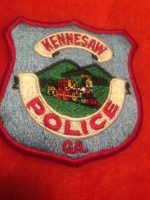 Kennessaw  Police GA   Police Patch