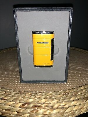 Xikar Allume Lighter Gen 2 - Single Jet - Yellow - 531YL - New