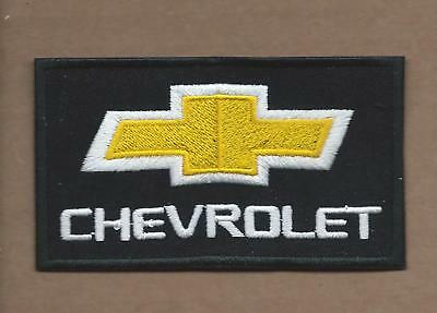 New 2 1/4 X 3 3/4 Inch Chevrolet Iron On Patch Free Shipping