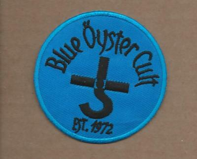 New 3 Inch Blue Oyster Cult Est 1972 Iron On Patch Free Shipping