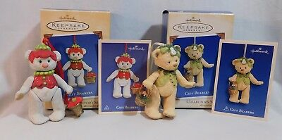 Hallmark Gift Bearers ~ Lot Of 2 ~ 2002 [#4] & 2005 [#7] ~ Porcelain
