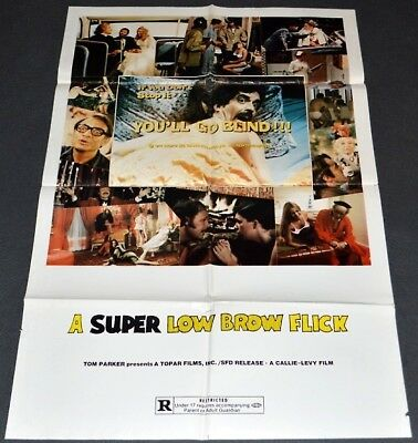 If You Don't Stop It You'll Go Blind 1975 Orig. Movie Poster Comedy Exploitation