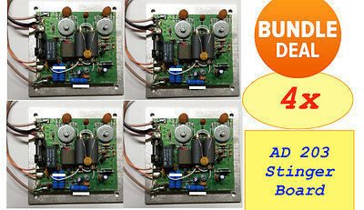 4x AD 203 Booster PCB Board - Bundle and Save!