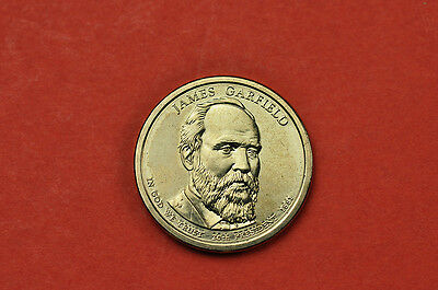 2011-D BU Mint State (James Garfield ) US Presidential One Dollar Coin