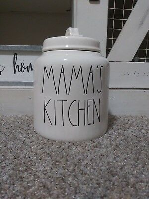 Rae Dunn 'MAMA'S KITCHEN' Cannister (Rare) Brand New Never Used