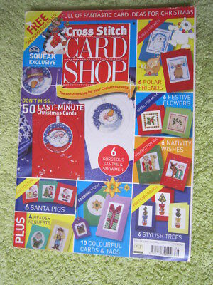 Cross Stitch Card Shop Magazine Full Of Christmas Card Designs Issue 39