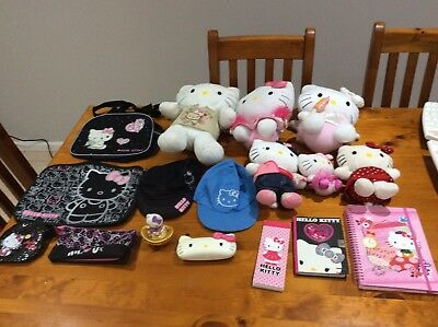 Hello Kitty Collectables. One complete lot