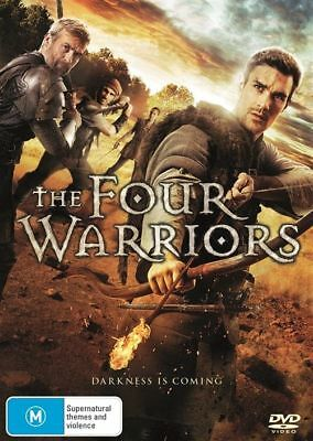The Four Warriors | DVD Region 4 | Brand new & Sealed | Free Postage
