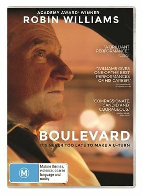 Boulevard | Robin Williams | DVD Region 4 | Free Shipping | Brand New & Sealed