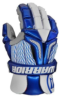 (Medium, Royal Blue/White) - Warrior Burn Pro Gloves. Shipping is Free