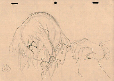 SALE! Anime Genga Not Cel: ToraDora! #371 (Set of 1 Production Sketch)
