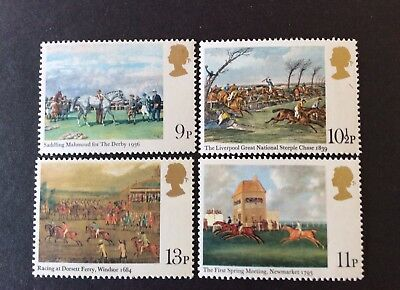 GB 1979 Horse Racing Paintings Bicentenary of the Derby Mint Set