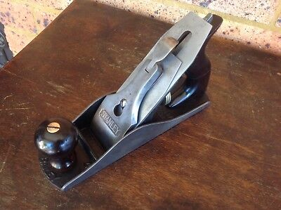 Vintage Stanley No. 4 Finishing Plane Type 14. USA. Rosewood Handles. SW Blade