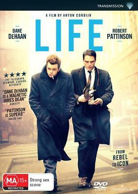 Life | Robert Pattinson | DVD Region 4 | Brand New & Sealed | Free Postage