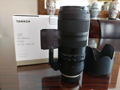 Tamron SP 70-200mm f/2.8 Di VC USD G2 for Nikon AUS STOCK IMMACULATE