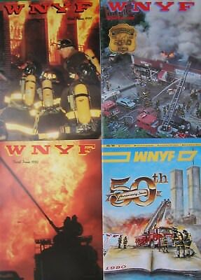 1990 Wnyf 4 New York Firefighters Nyfd Magazines