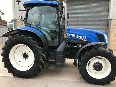 New Holland T6.175 2014 3900 Hours. Excellent Condition