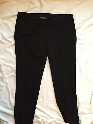 Mothercare 'Blooming Marvellous' Maternity, Black Work Trousers, Size 18 Regular