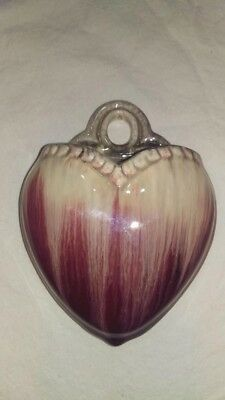 Stunning Vintage Love Heart Wall Vase made in GERMANY Mint Condition