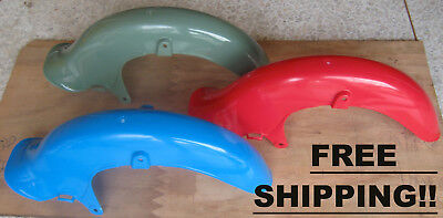 Front Fender Honda Cub C50 C50Z C65 C70 C90 Japan Red Blue Green - FREE SHIPPING