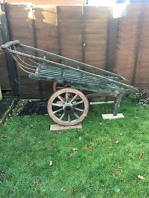 Costermonger Barrow,  market barrow, fruit and veg barrow, display,garden barrow