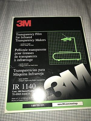 3M Transparency Film For Infrared Transparency Makers Medium Weight IR 1140