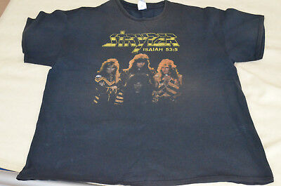 Stryper To Hell with the devil Tour  Shirt XL-