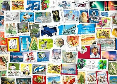 FINLAND - Selection of Stamps on Paper - Approx 16 gms - All Different