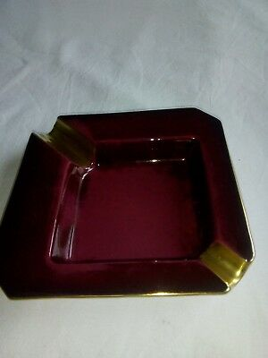 Carlton Ware Rouge Royale Ashtray