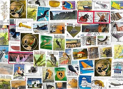 SOUTH AFRICA - Selection of Stamps on Paper - Approx 15 gms - All different