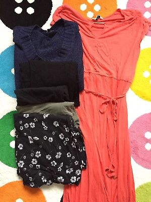 Maternity Clothes 6 Piece Bundle, Size 18, Dorothy Perkins, New Look, Mithercare