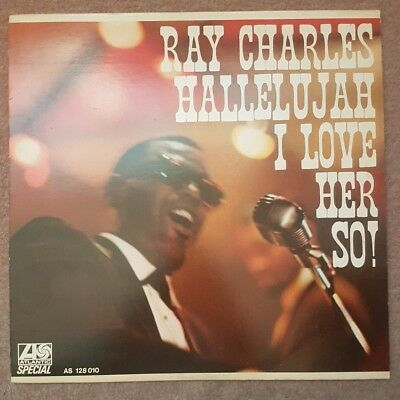 Hallelujah I Love Her So - Ray Charles (1969, Vinyl)