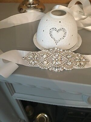 bridal belt crystal Brand New Stunning !!! Cost £40