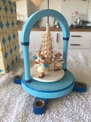 Antique Expertic East German Candle Carousel, Windmill.