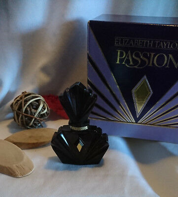 "🌟FLAKON ELIZABETH TAYLOR "" Passion ""  7,5 ml PARFUM mit BOX"