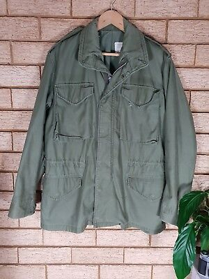 Vintage US Army Field Jacket M-65 OG-107 Regular Small