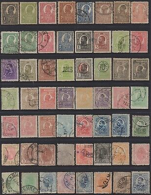 Romania Old Collection Of (56) Stamps Vfu
